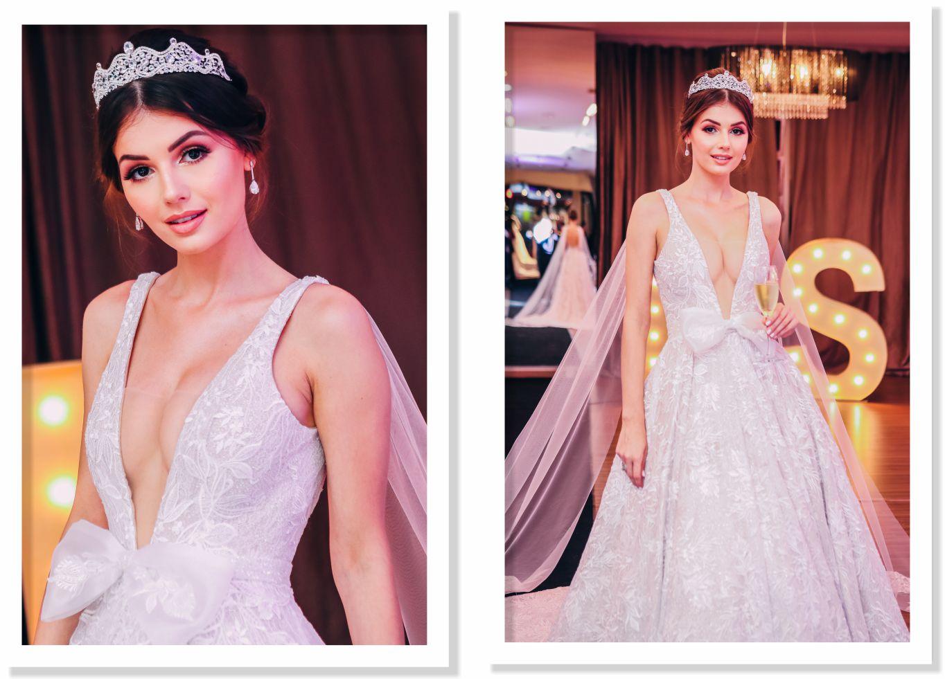 vestido de noiva casamento renda tule bordado capa laço véu sob medida lucinha silveira criação